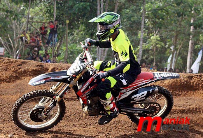 Asep Lukman, Bonaharto, Motocross