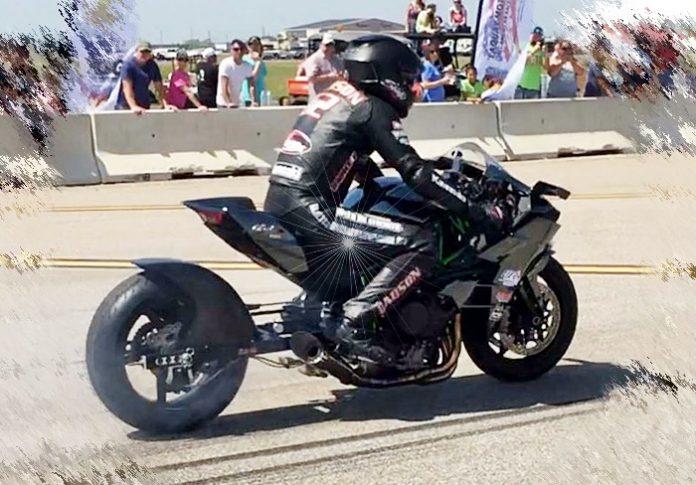 Kawak H2, Drag Bike, Hodson