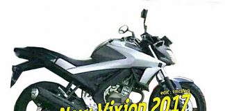 Yamaha, V-Ixion, 2017