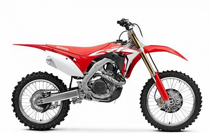 CRF450R-Honda, Baru