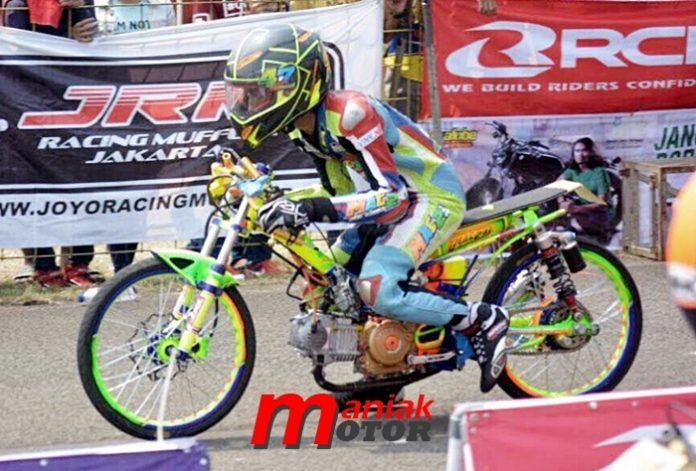 Gerry Percil, Drag bike, Cicangkal