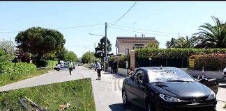 Hayden, kecelakaan, Rimini