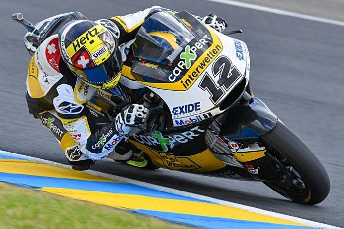 Luthi, Moto2, Prancis