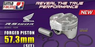 Piston UMA Forged Sonic