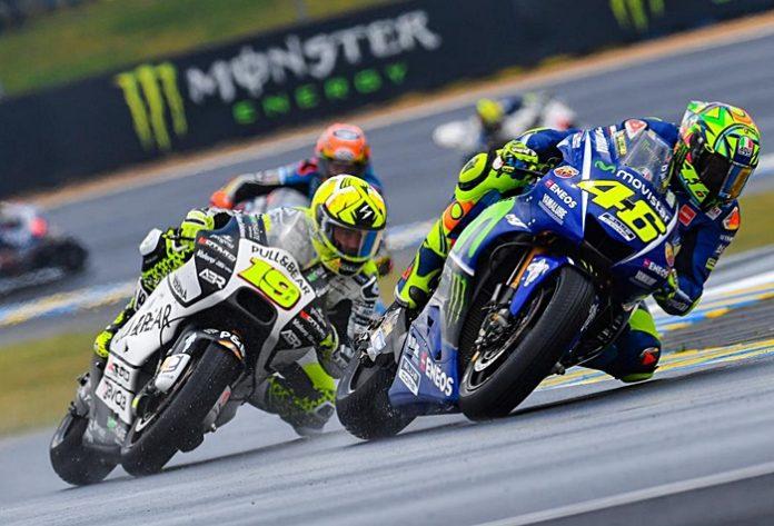 Rossi, Motogp, le Mans FP1-2