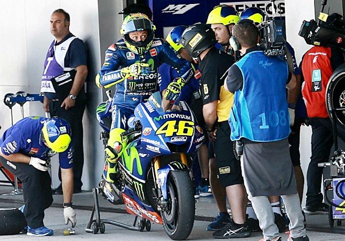 Rossi, Motogp, tes Jerez