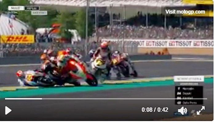 petaka, Moto3 Prancis