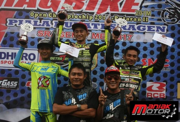 podium dragsragen 2017