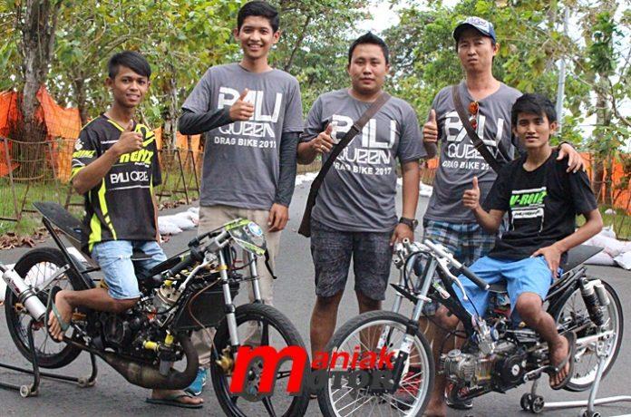 Bali queen, drag bike, bali