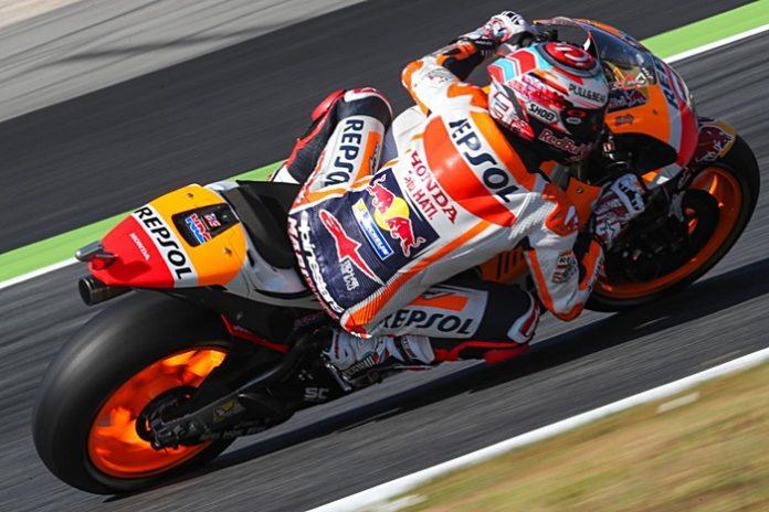 Marquez, tes Catalunya, MotoGP