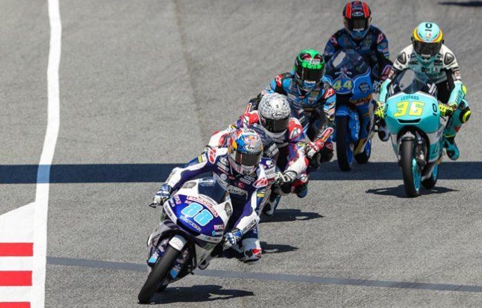 Martin, FP1 Sacsentring, moto3