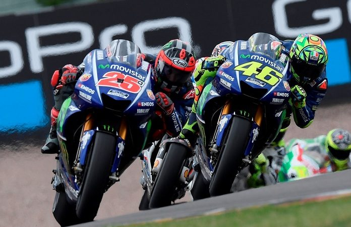 46 - 25 Movistar Yamaha MotoGP 2017