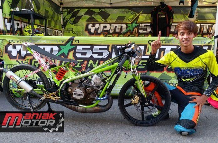 Erwin Sredek dan Ninja YPM55