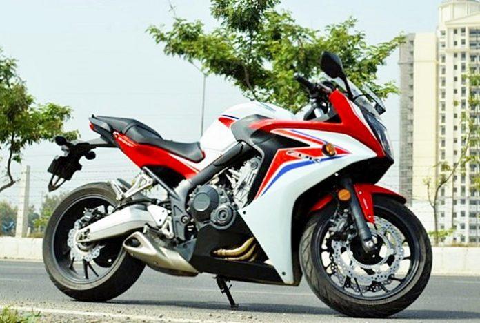 Honda-CBR650F, India