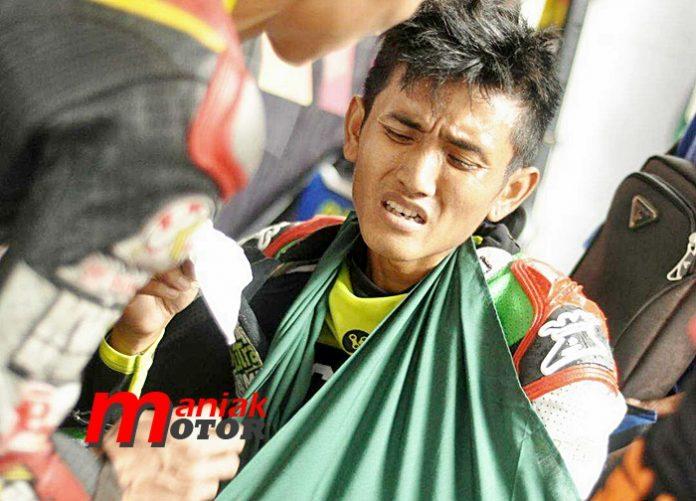 Jhon PK, Cimahi Insiden, Drag Bike