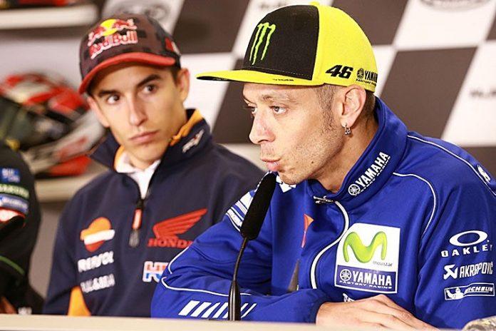 Marquez, Pesaing Rossi, MotoGP