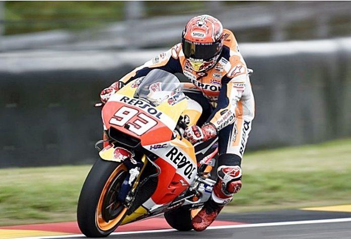 Marquez, tes brno, motogp