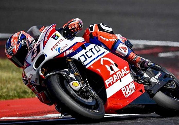 Pterucci, tes Misano, MotoGP