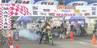 WR Battery, Atang, Dragbike