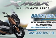 XMAX, Order Juli, Yamaha