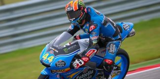 Canet, FP2 Moto3, Silverstone