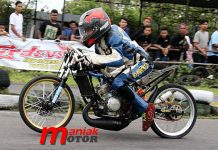 Dwi, Klaten, Drag Bike