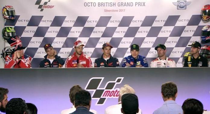 GP Inggris 2017 Jumpa Pers