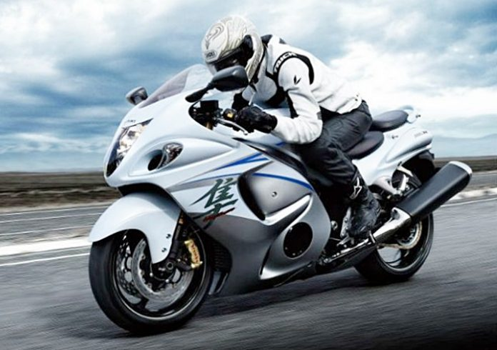 HAYABUSA, TURBOCHARGED,SUZUKI