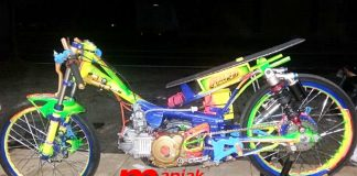 Jupie, Klep Titanium, Drag bike