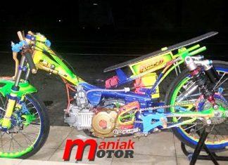 Jupie, Klep Titanium, Drag bike