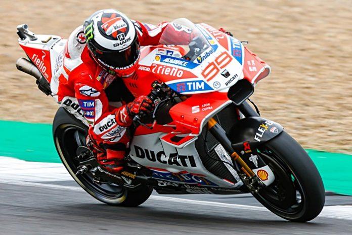 Lorenzo, Ducati GP17, MotoGP