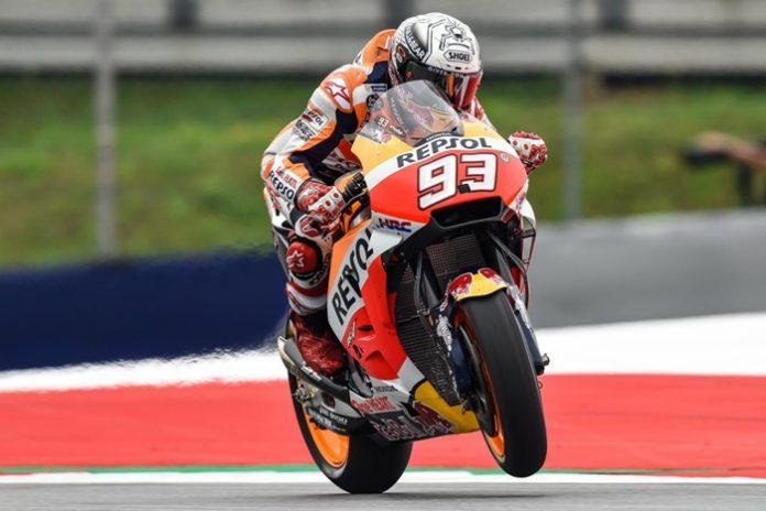 Marquez, FP3 Austria, MotoGP