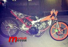 Sonic 150R, Cicangkal, Dragbike