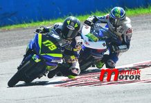 Yamaha, dominasi R15, IRS sentul