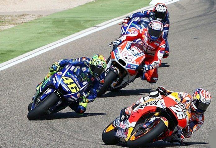 Dani-Rossi, Aragon, MotoGP