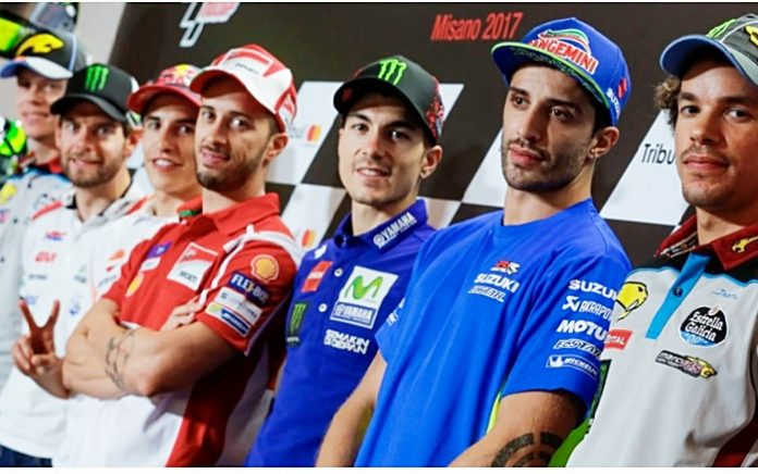 Konferensi pers, Misano, MotoGP