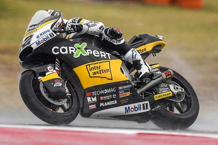 Luthi, FP1 Aragon, Moto2