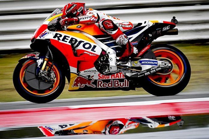 Marquez, cakram karbon, motogp