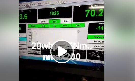 Nmax 20 hp