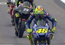 Rossi, FP1 Aragon, MotoGP
