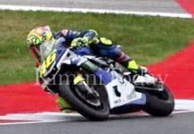 Rossi, Jajal R1, Misano