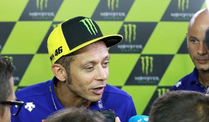 Rossi, Jatuh, MotoGP