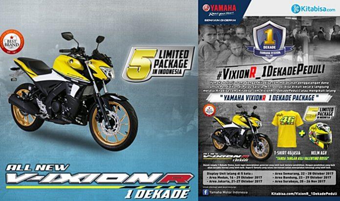 Donasi, Vixionr, Yamaha