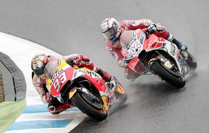 Dovi, Ostrali, MotoGP