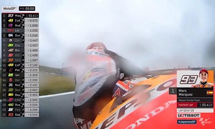 Marquez, FP1, MotoGP