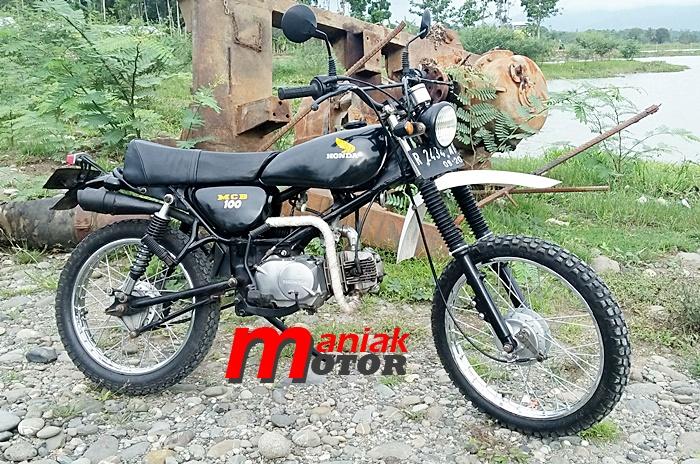 Honda Win 100 Si Doel Anak Sekolahan Disulap Jadi Trail Klasik Vintage Unduro Portal Sepeda Motor Dan Seluruh Aspeknya