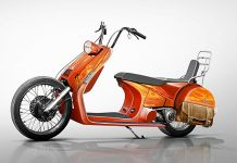 vespa,chopper, Modif