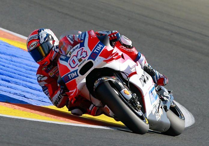 Dovi, Valencia, Motogp race