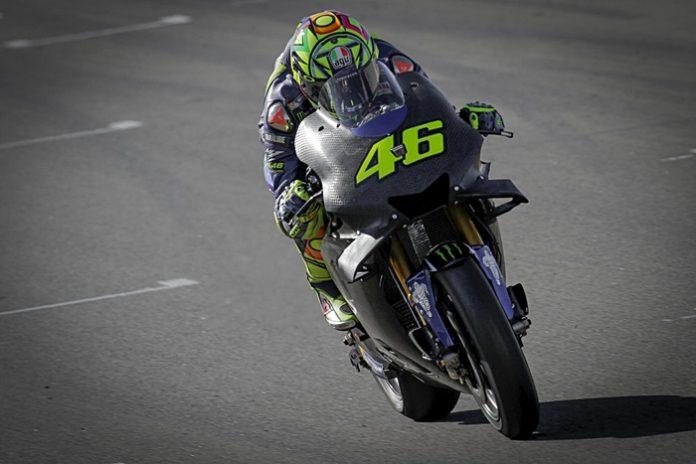 Rossi, Valencia tes, Motogp