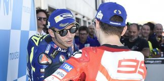 Lorenzo, Rossi, Ducati